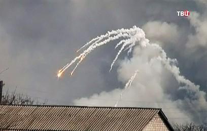 На складе боеприпасов в Харькове продолжаются взрывы