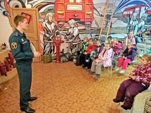 Противопожарные занятия для сохранения детских жизней