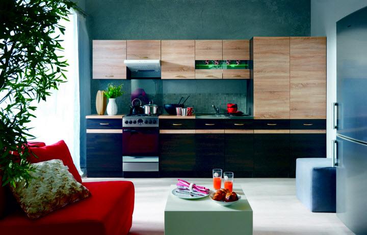 Как подобрать мебель для маленькой кухни