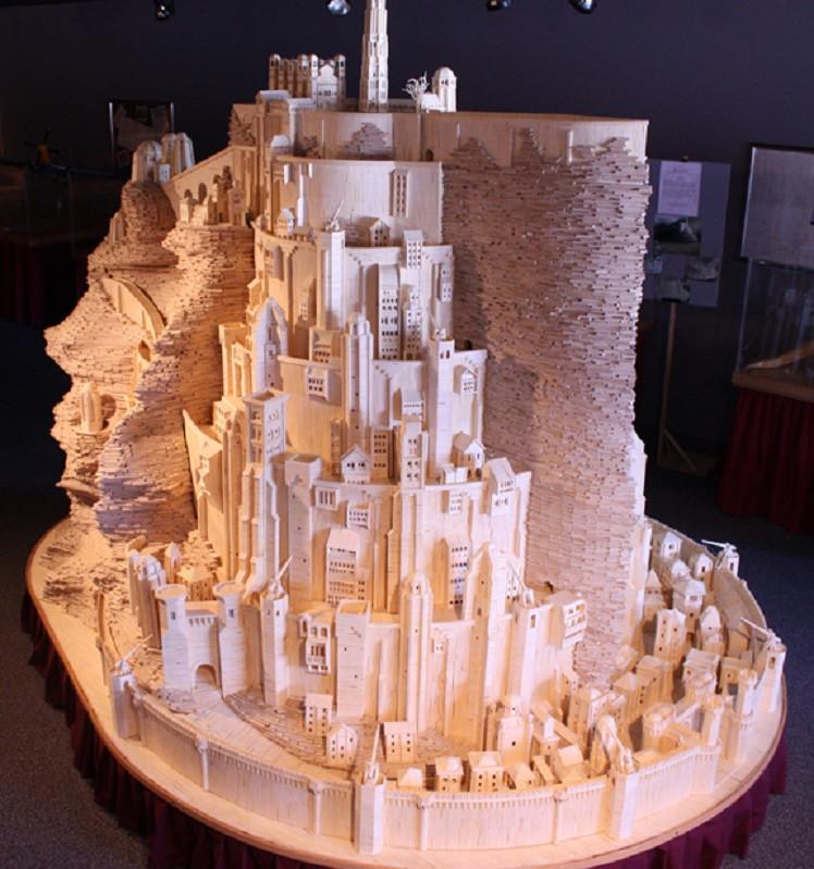 Скульптор Патрик Актон и его потрясающее хобби