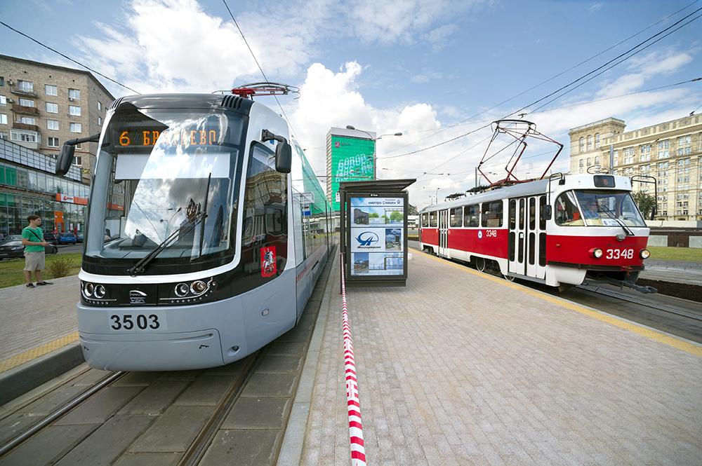 Монорельсовую дорогу в Москве переделают в трамвайные пути