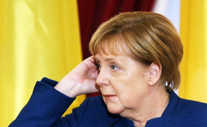 В Киеве осмелели: «Меркель – агент Кремля»