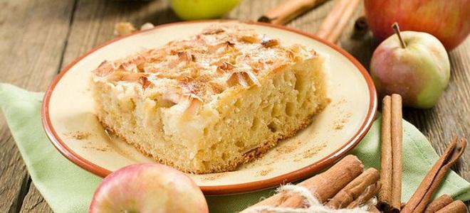 Шарлотка с яблоками на сметане пошаговый рецепт