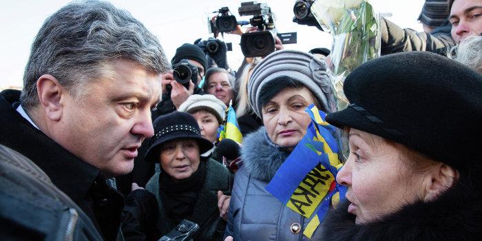 Порошенко обвинили в пьянстве во время Майдана