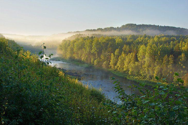 Живописнейший край глухих лесов
