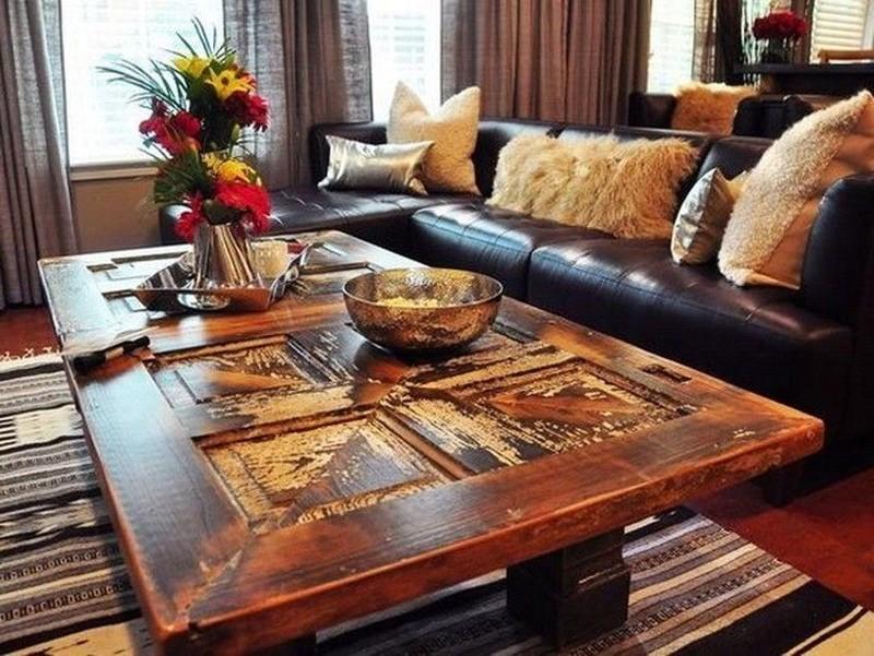 Вместо поддонов теперь можно сделать стол из двери двери, полезные советы, своими руками, сделай сам, фото
