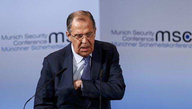 """С. Лавров в Мюнхене: """"Россия не снимет санкции против ЕС до выполнения Минских соглашений!"""""""