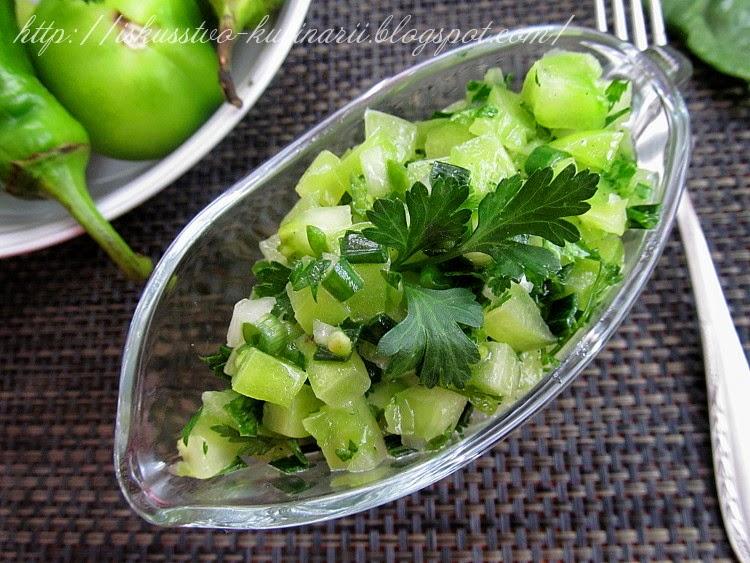 Сальса из зеленых помидор (Green Tomato Salsa)