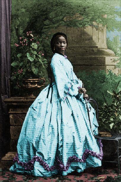 История маленькой рабыни, ставшей крестницей королевы