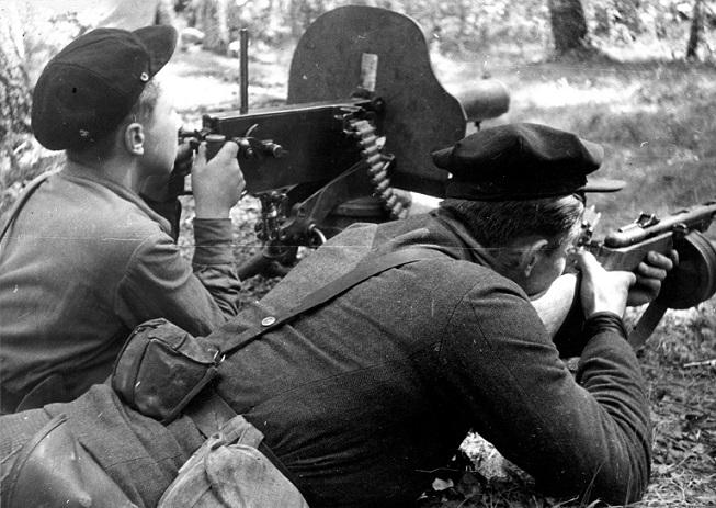 Немецкие дезертиры, которые …