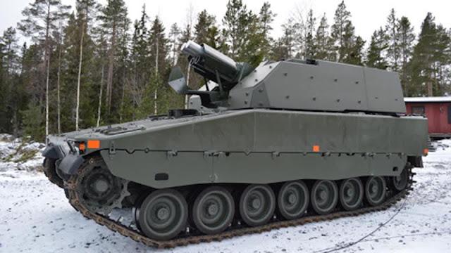 Шведская армия получила первые четыре 120-мм самоходных миномета Grkpbv90