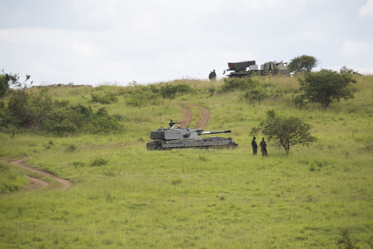 Китайская 122-мм самоходная гаубица SН3 в Руанде
