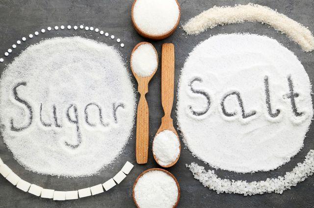 Соль и сахар. Сколько их можно съесть без вреда для здоровья?