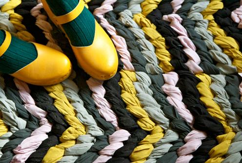 коврик из узелков своими руками