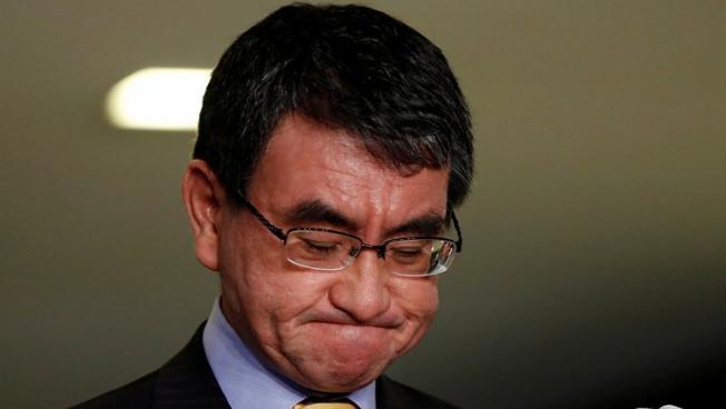 Глава МИД Японии четыре раза подряд ушел от вопросов про мирный договор с РФ