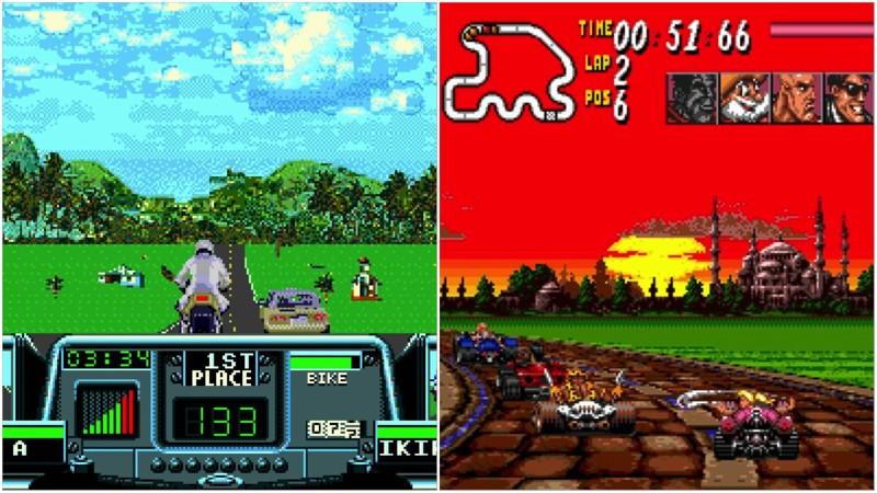 10 классных ностальгических гонок на Sega