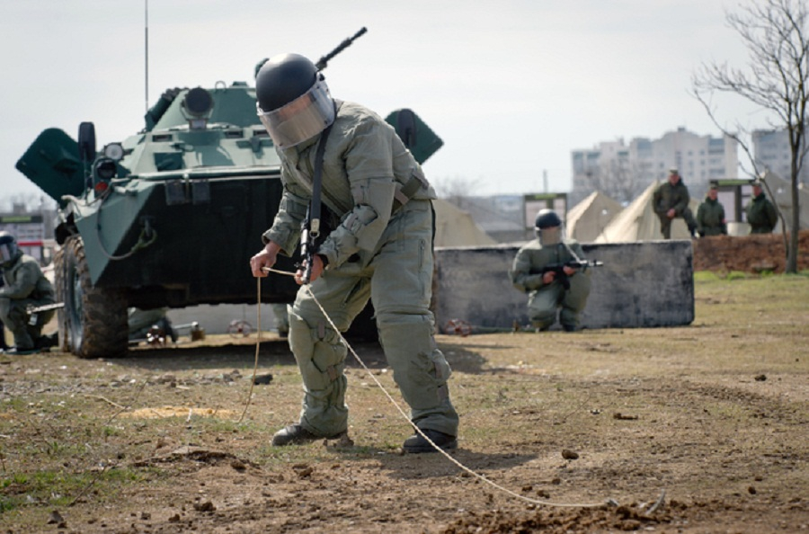 Взрывная «волна»: мир увидел новейшее вооружение российских саперов