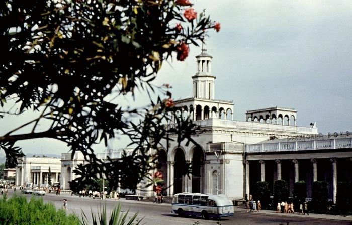 Центральный автовокзал города.