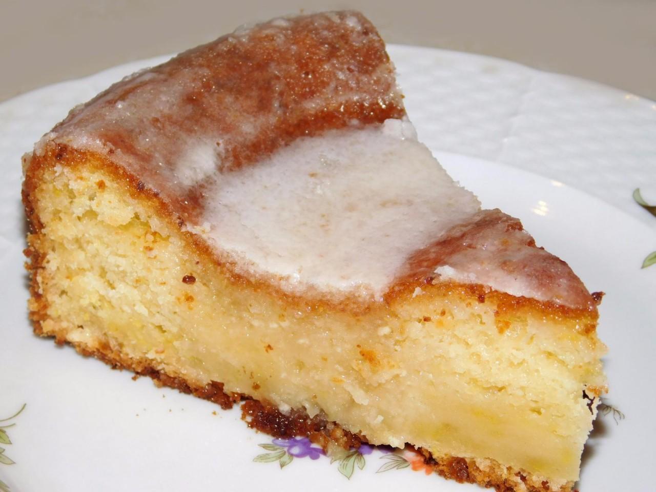 Творожный пирог «Лимонная удача»