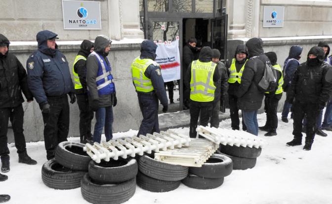 Ще не вмерзла Украина