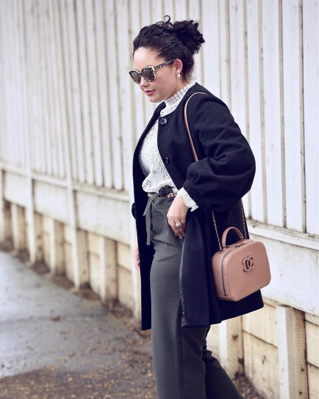 Пальто для полных: как подобрать стильную модель на полную фигуру?