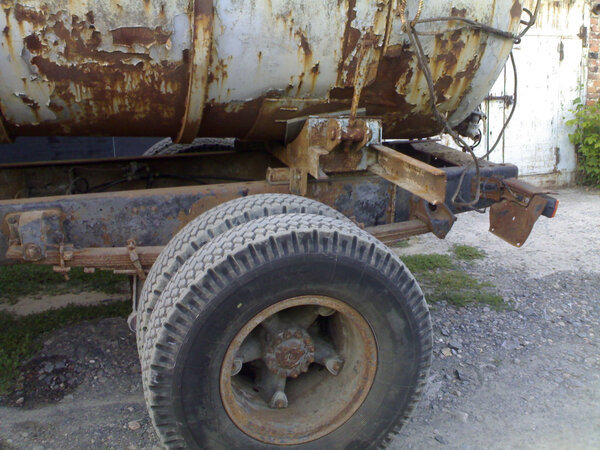 Мужик купил у соседа КамАЗ, который простоял на улице 5 лет и восстановил его для себя и для работы Камаз, Реставрация, Длиннопост