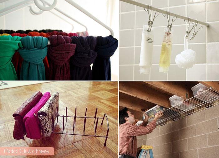 10 мест хранения, которые легко сделать своими руками