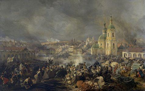 Бой под Вязьмой          22 октября (3 ноября) 1812 года
