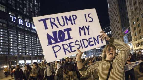 Трампа — геть: после тренировки на Украине США могут устроить Майдан у себя — Владимир Путин