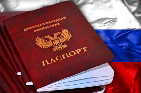 Признание паспортов ДНР и ЛНР