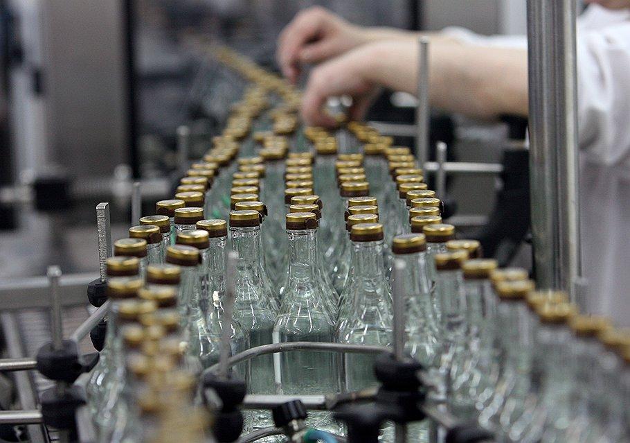 В России выросла цена на водку