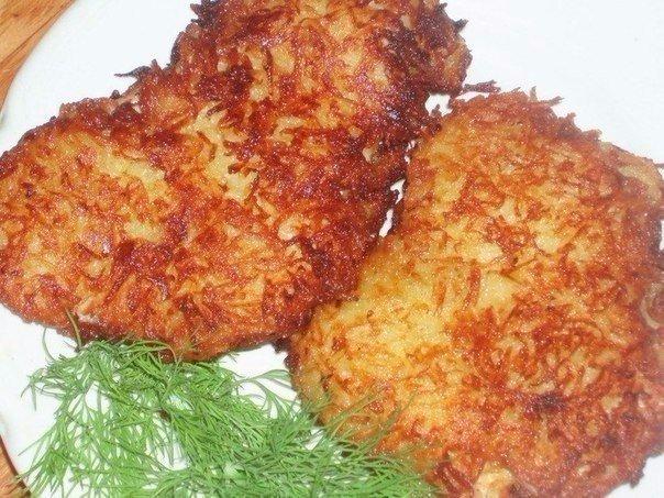 Куриная отбивная в картофельной панировке — Так вкусно и сытно