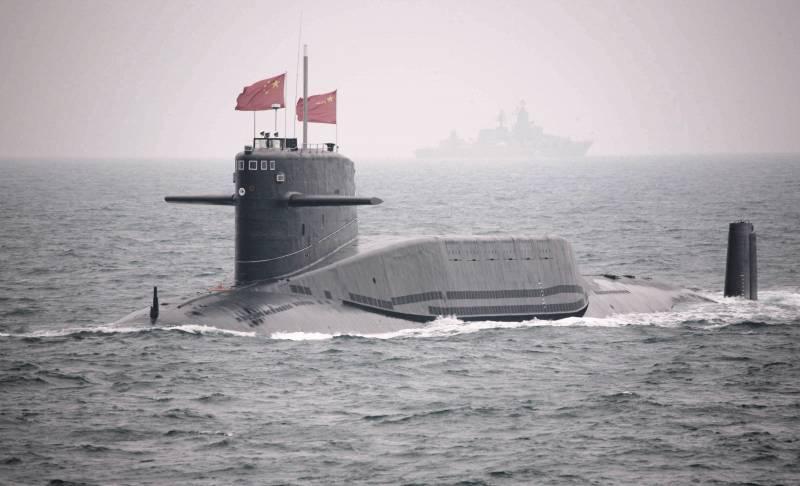 Китайский флот пополнился новой атомной подлодкой