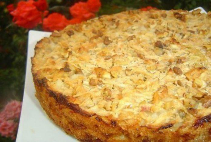 Болгарский яблочный пирог. Понравился всей моей семье!