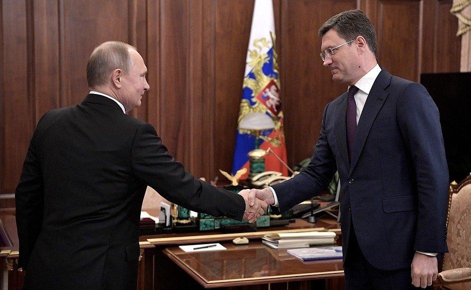 Новак доложил Путину об успе…