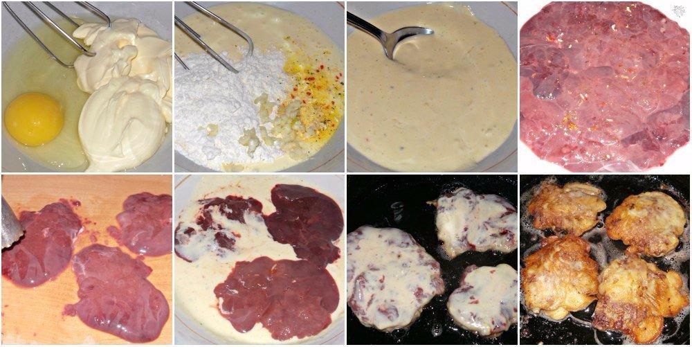 Как приготовить печень в сметане рецепт с пошагово