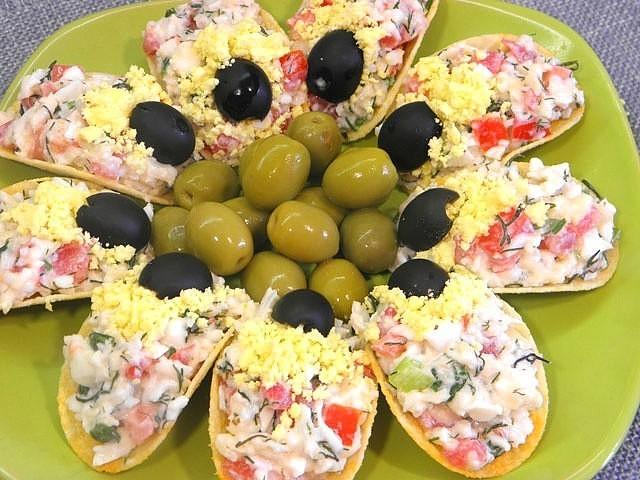 Красивые и вкусные закуски на праздничный стол