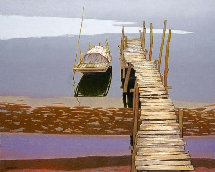 «И в тишину, как в океан, войди…» Вьетнамский художник Dang Tien