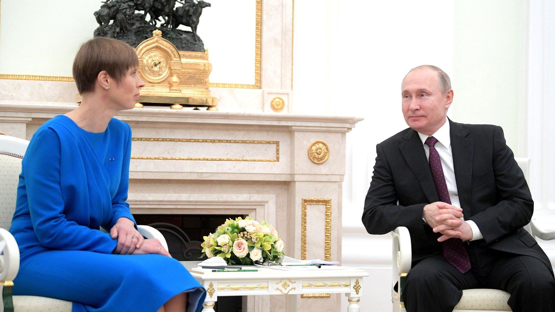 Визит Кальюлайд в Россию никак не повлияет на внешнеполитический курс Эстонии