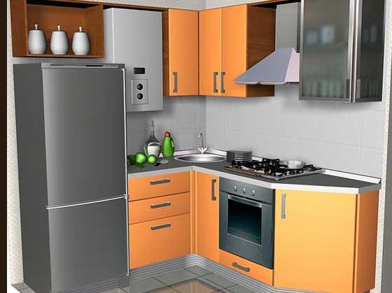 ремонт кухни в хрущевке фото