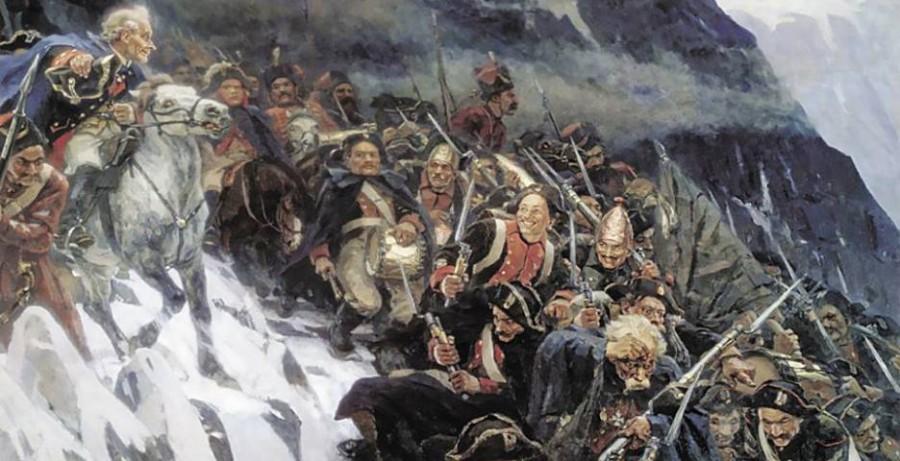 В 1799 году Суворов перешел через Альпы. Зачем?