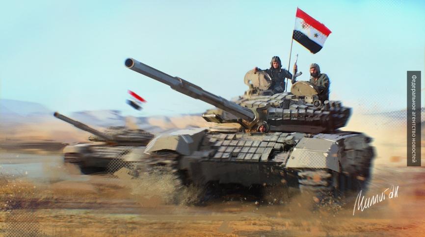 Почему ИГИЛ бежит из Ракки к газовым полям Пальмиры