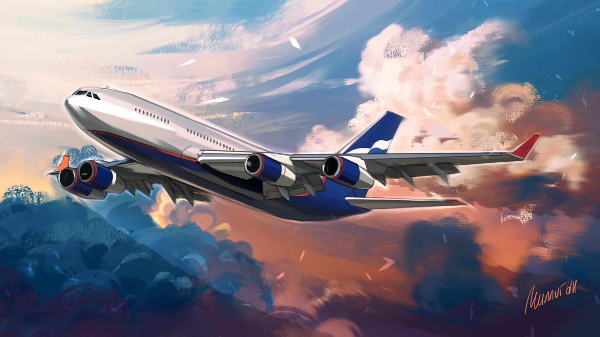Сборка опытного образца Ил-96-400М идет полным ходом