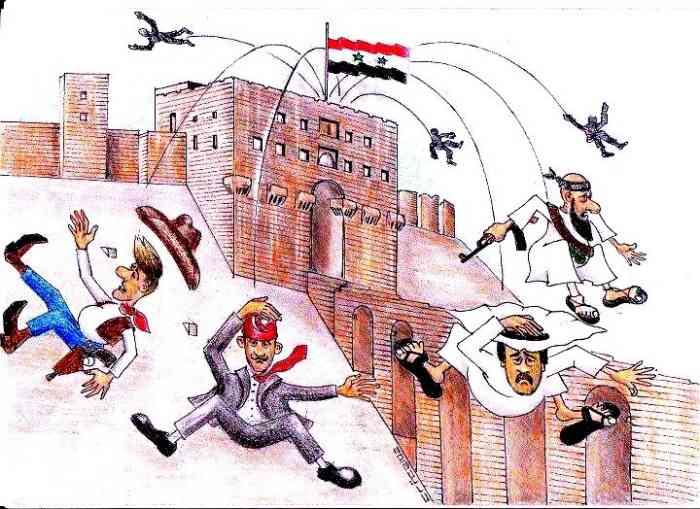 Вся дипломатия Запада несётся под откос - с грохотом и искрами.