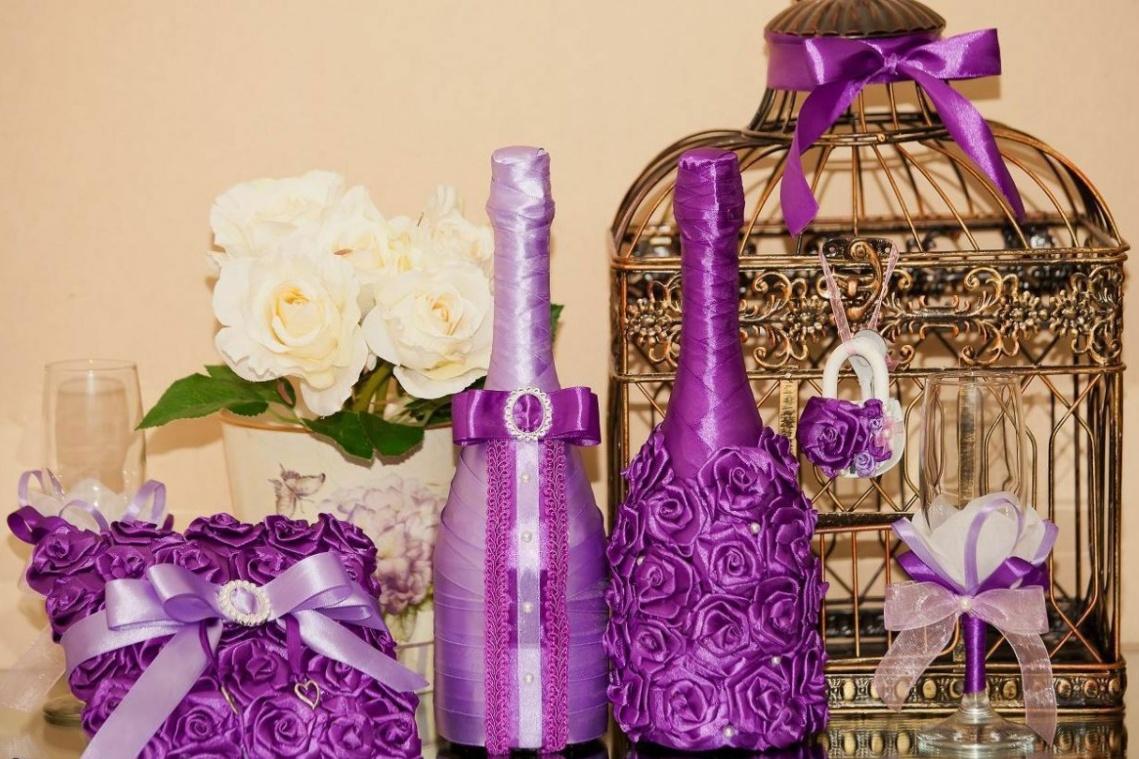 Декорирование бутылок своими…
