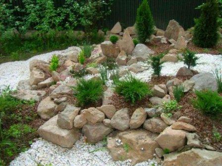 Скалистый сад в ландшафтном дизайне