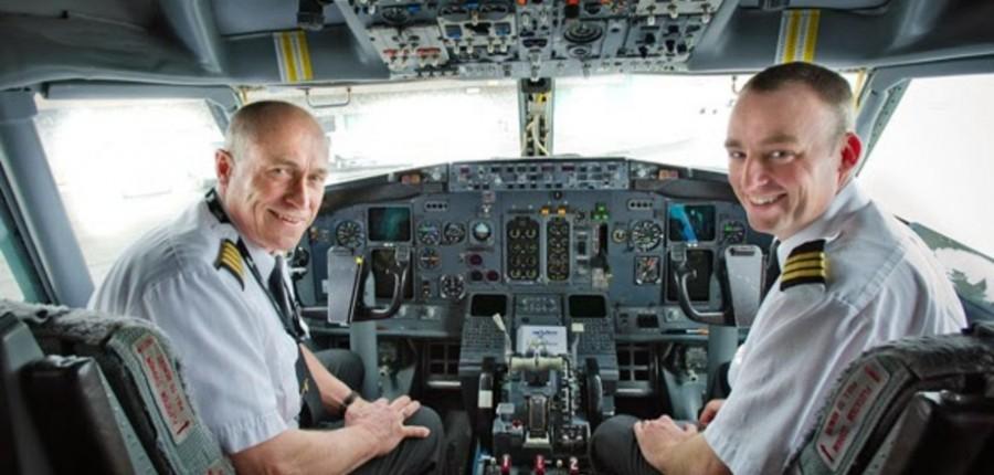 Диалоги между пилотами и дис…