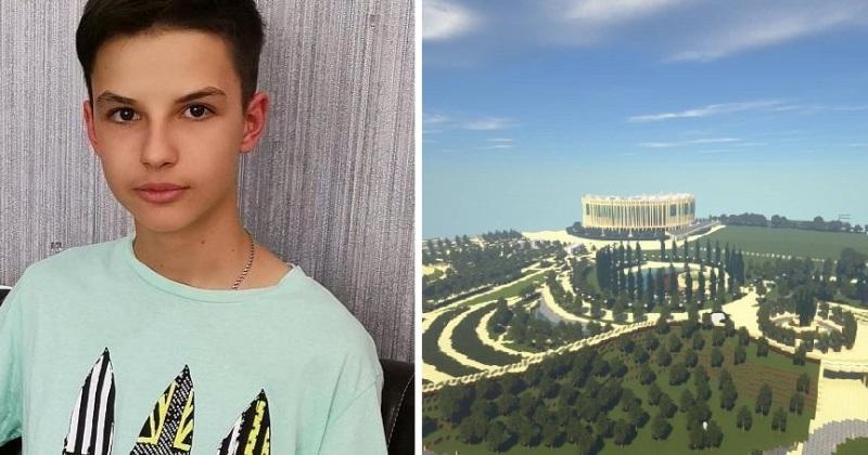 2 года, 2 миллиона блоков: школьник построил Краснодар в Minecraft