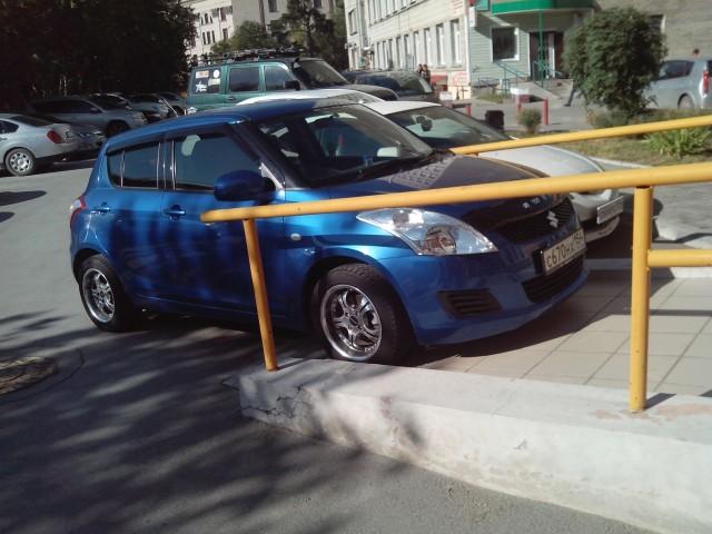 Парковка по-новосибирски ( Наш родной беспредел)