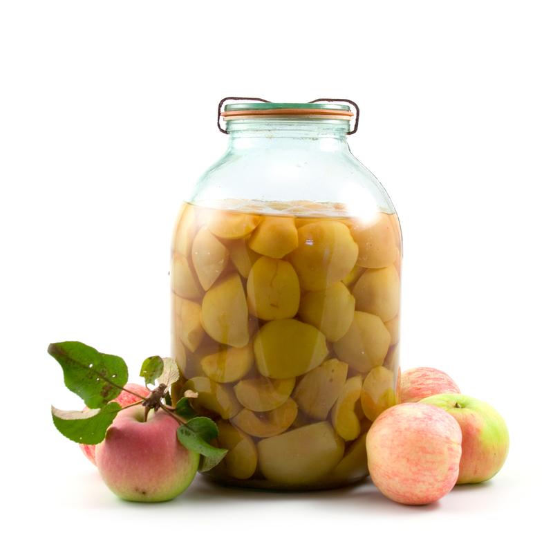 Яблочный компот